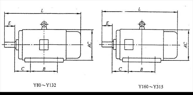 y90l-4 y2-90l-4 1.5kw三相异步电动机